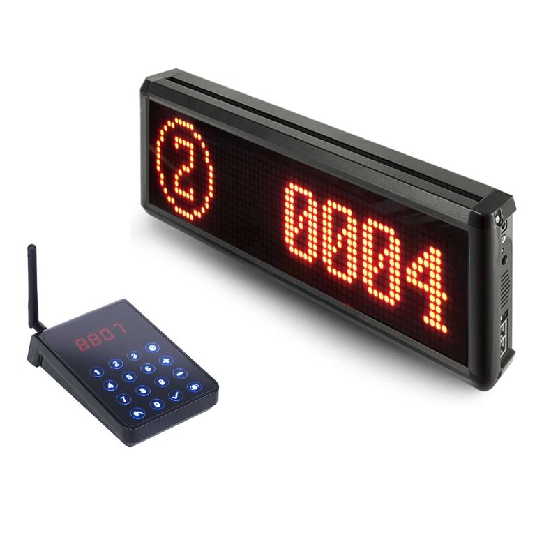 Wireless-Queue-Management-System-LED-Receiver-Restaurant